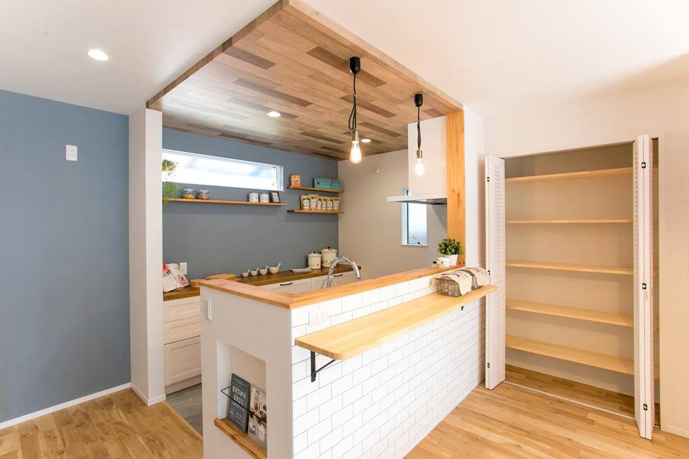建て替えリノベーション キッチン