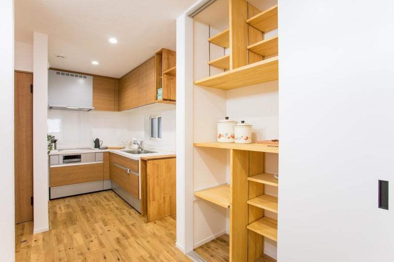 堺市 新築 収納 キッチン