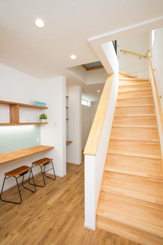 堺市 新築 階段