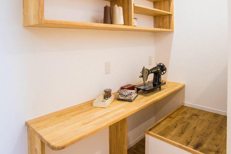 注文住宅 ママらくだ 趣味の部屋 雑貨作業スペース