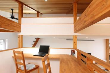 注文住宅 モデルルーム 中2階