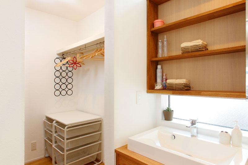 注文住宅 モデルルーム 洗面・収納