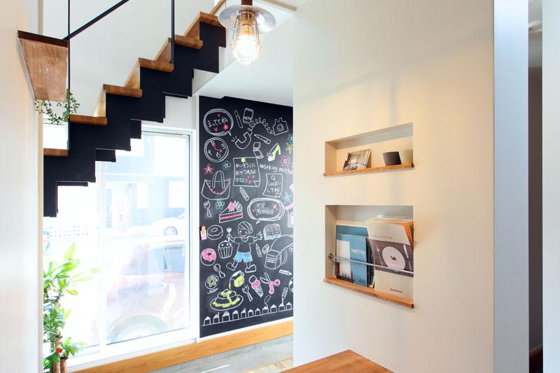 注文住宅 モデルルーム 玄関デザイン 玄関
