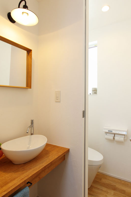 注文住宅 モデルルーム 洗面・トイレ