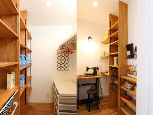 注文住宅 趣味の部屋