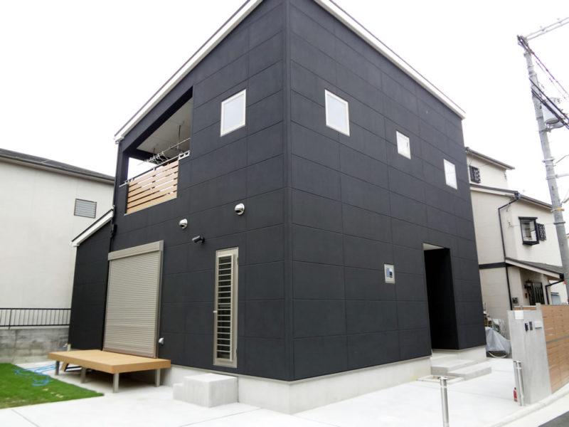 堺市東区 注文住宅 CUBEスタイル 外観