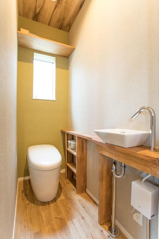 注文住宅 トイレ