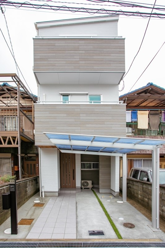 堺市 新築注文住宅 外観