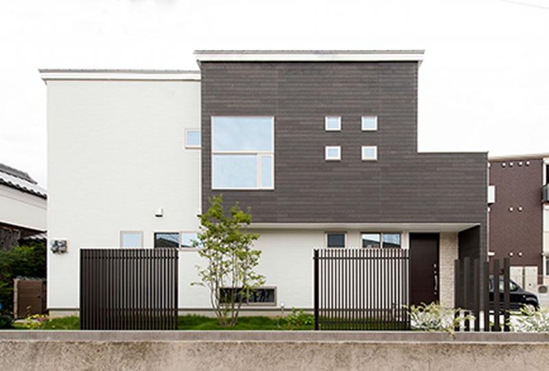 奈良市 新築 注文住宅 外観