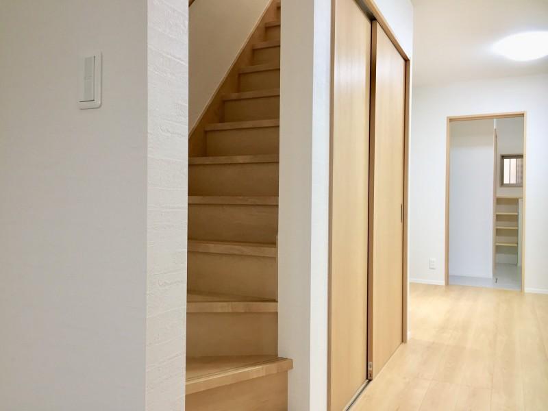 堺市北区 リフォーム リノベーション 階段