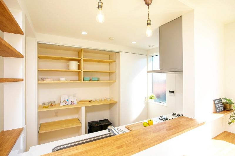 堺市 新築 キッチン 収納