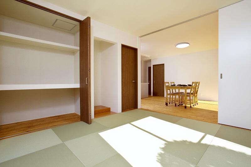 堺市 新築 和室 収納