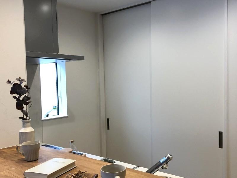 堺市 新築 注文住宅 キッチン収納