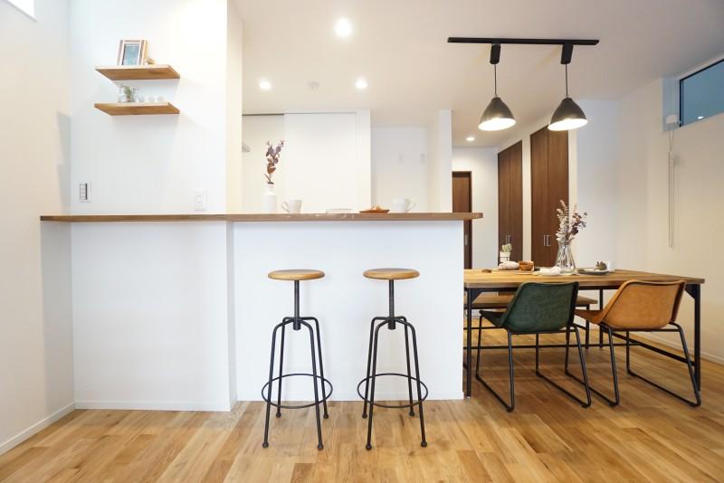 堺市 新築 注文住宅 カウンターキッチン