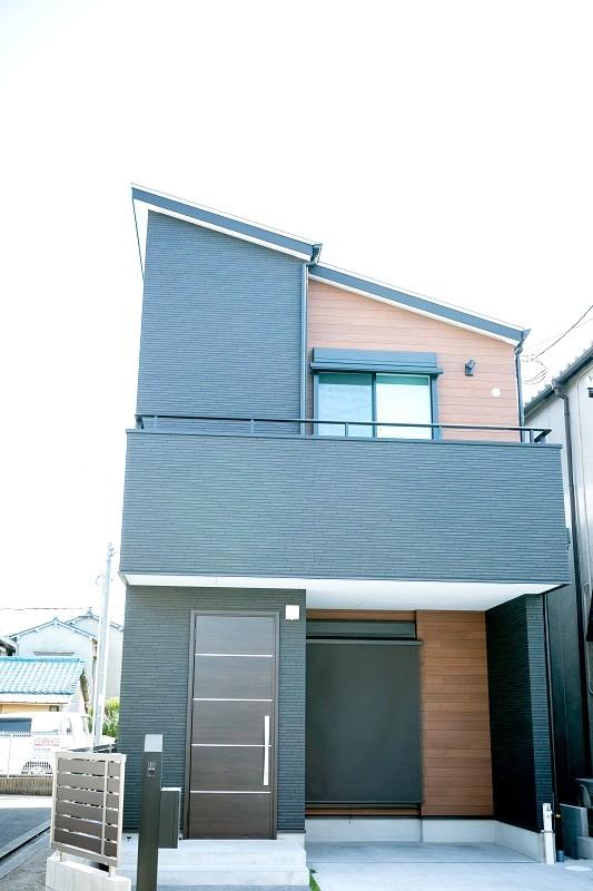 堺市北区 新築 注文住宅 外観
