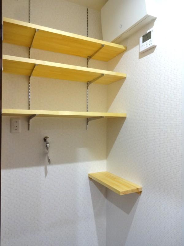 堺市北区 新築 注文住宅 施工例 造作 収納 サニタリー