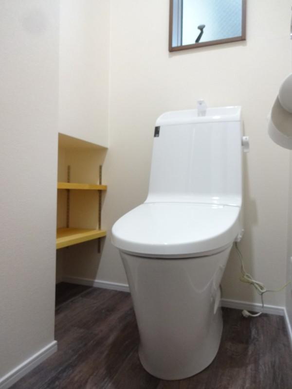 堺市北区 新築 注文住宅 施工例 サニタリー トイレ