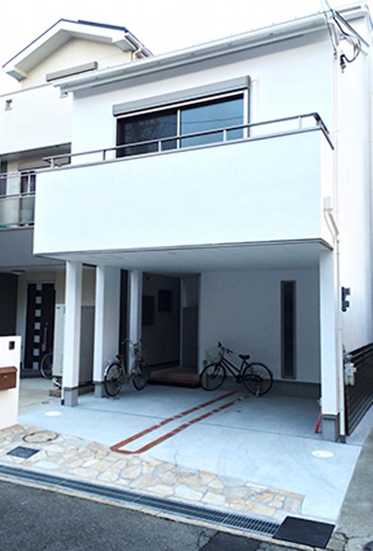 堺市北区 新築 注文住宅 施工例 外観