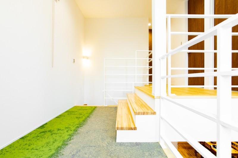堺市北区 新築 注文住宅 施工例 スキップフロア