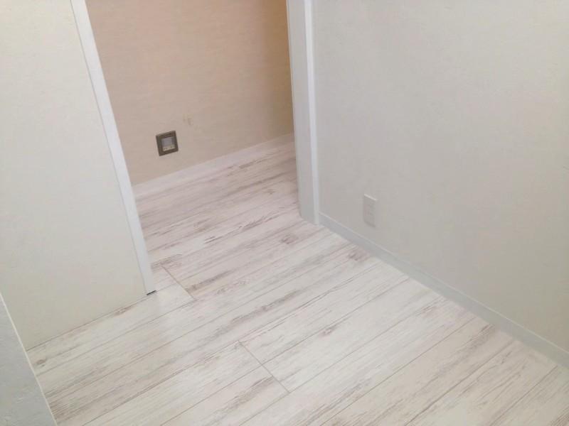 堺市 リノベーション 施工例 白い床