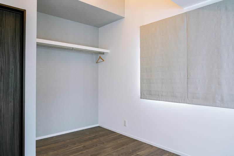 新築注文住宅 堺市西区 かわいいお部屋 収納
