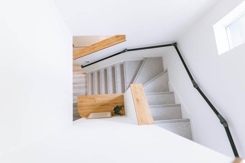 新築注文住宅 堺市西区 おしゃれな階段
