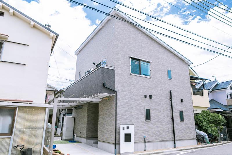 新築注文住宅 堺市西区 外観