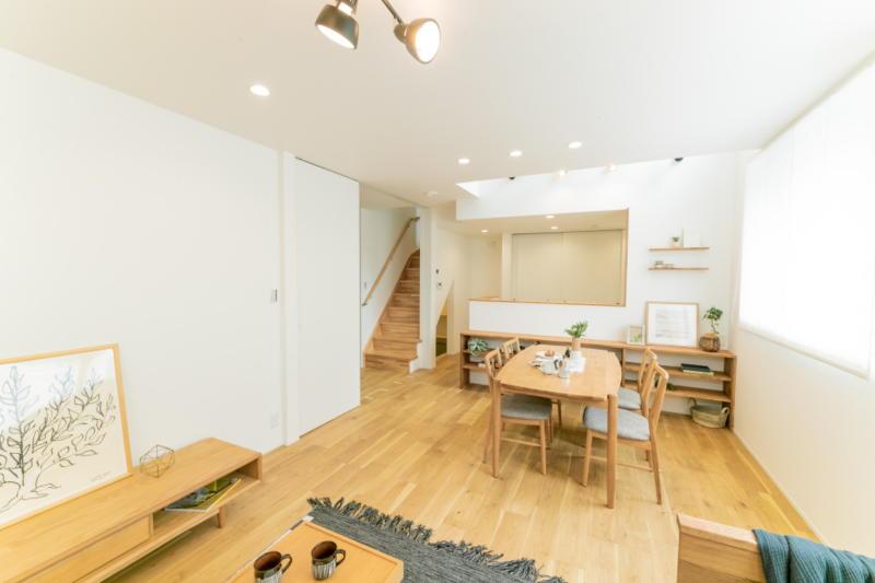 新築注文住宅 堺市北区 リビング
