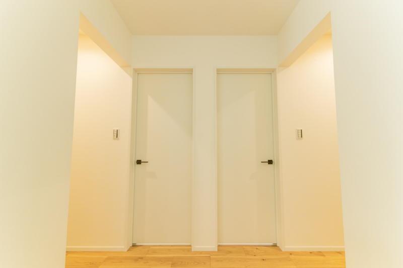新築注文住宅 堺市北区 スキップフロア 2階