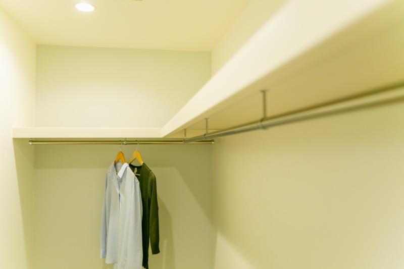 新築注文住宅 堺市北区 ファミリークローゼット