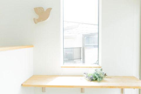 新築注文住宅 堺市北区奥本町 バード北花田保育園 玄関カウンター