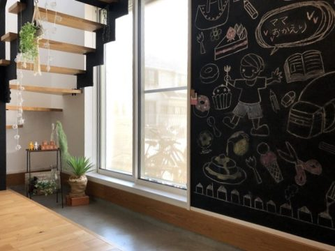 堺市北区大豆塚町 注文住宅 モデルルーム 土間玄関