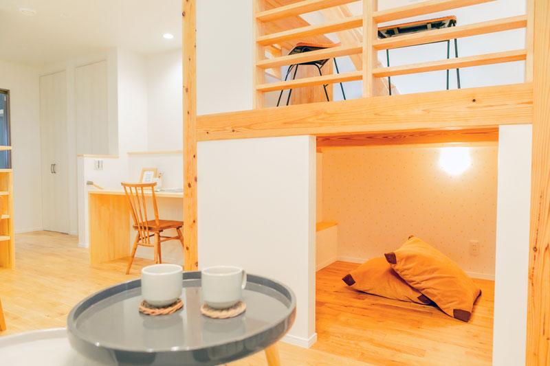 堺市北区 新築 注文住宅 中二階と秘密基地