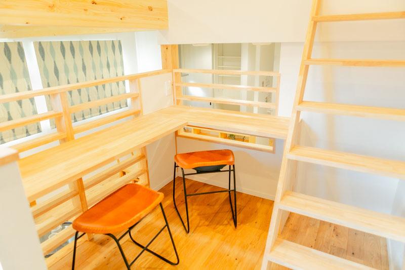 堺市北区 新築 注文住宅 素敵な中二階