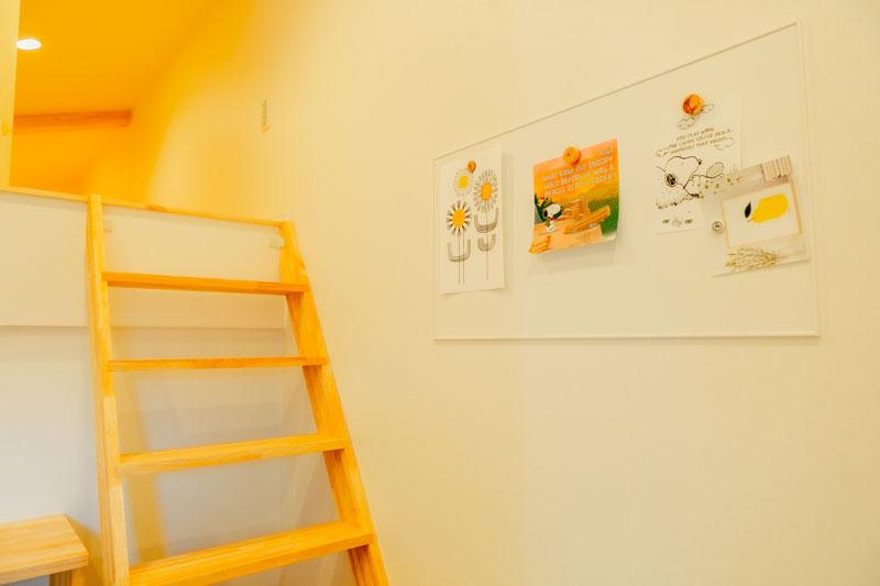 堺市北区 新築 注文住宅 ロフト階段