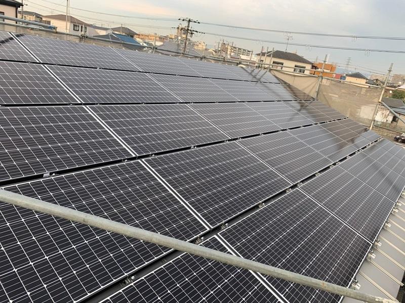 堺市北区大豆塚町 新築注文住宅 太陽光パネル