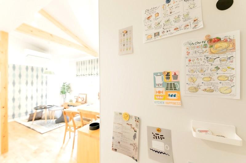 堺市北区大豆塚町 新築注文住宅 収納 アクセントボード