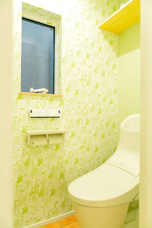 堺市北区大豆塚町 新築注文住宅 収納 トイレ