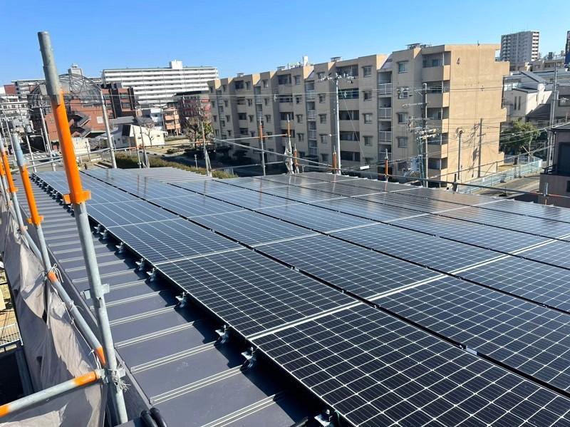 堺市北区大豆塚町 新築注文住宅 太陽光発電システム