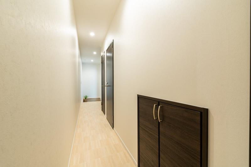 注文住宅 動線を考えた廊下