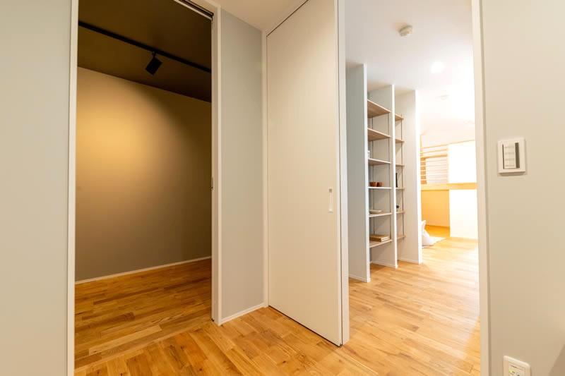 堺市北区大豆塚町 新築注文住宅 キッチン裏の部屋