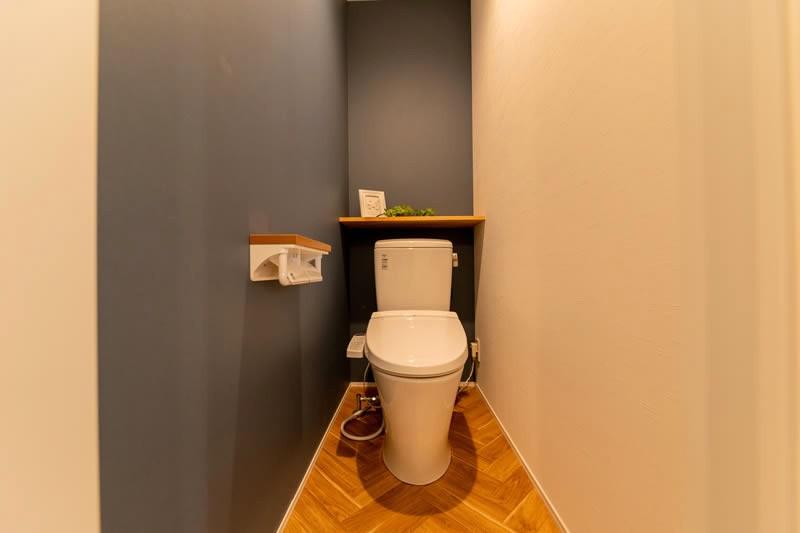 堺市北区大豆塚町 新築注文住宅 トイレ