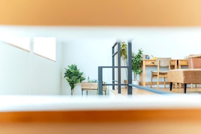 堺市北区大豆塚町 新築注文住宅 秘密基地からの眺め