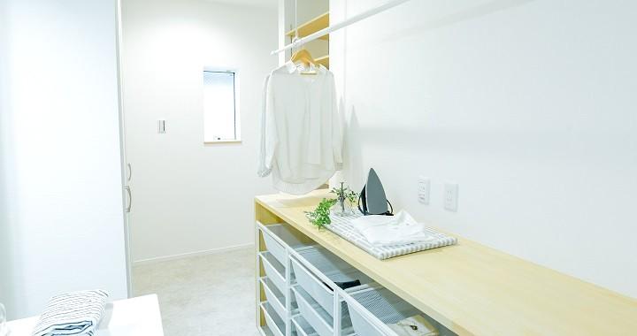 堺市北区大豆塚町  新築注文住宅 ユーティリティールーム